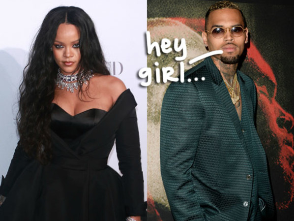 Apparently Chris Brown & Rihanna 'Talk All The Time'!??