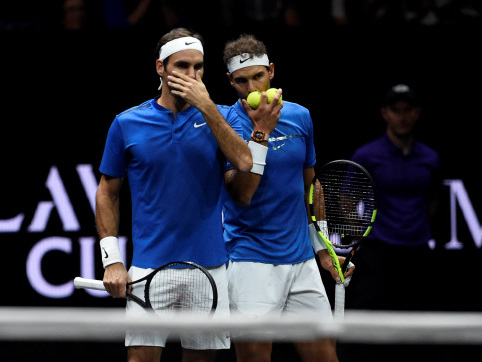 Power couple Nadal, Federer take Europe closer to Laver Cup