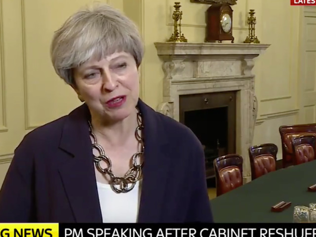 Theresa May Asked How She's Feeling By Beth Rigby, Gives Truly Bizarre Answer