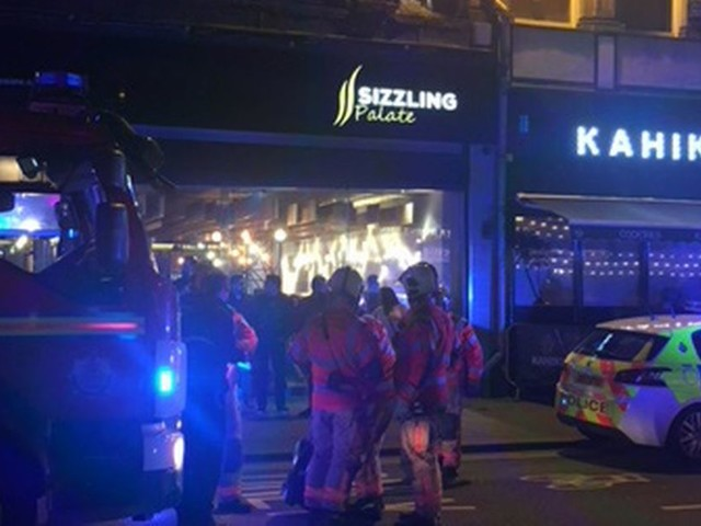 Six women injured after reported 'ceiling collapse' at Indian restaurant in Bolton