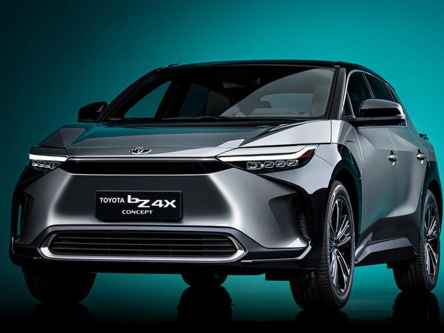 Toyota bZ4X SUV concept revealed