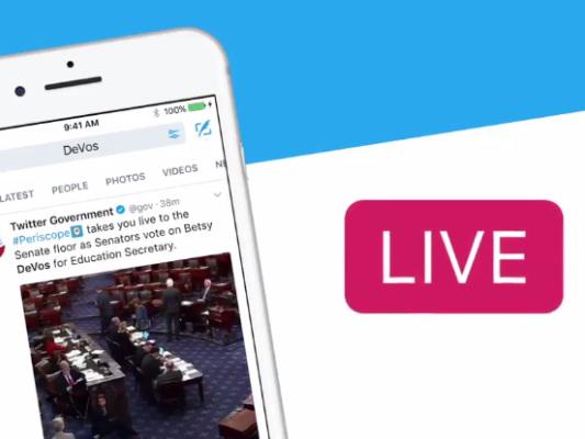 Twitter launching Live video API tomorrow