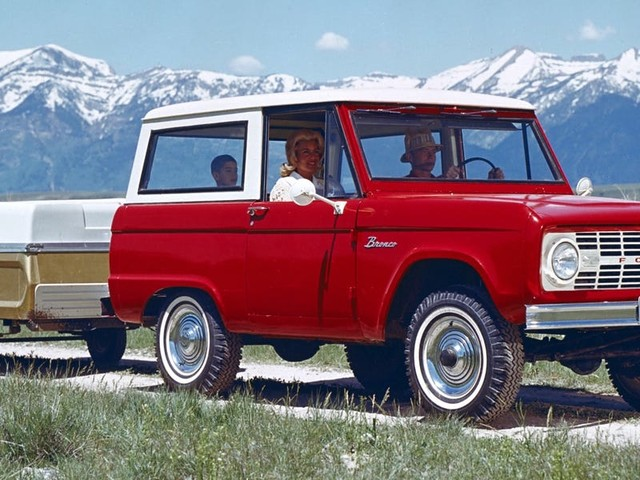 Ford just revealed the first Bronco since 1996 to enormous fanfare. Take a look back at what made the SUV so iconic.
