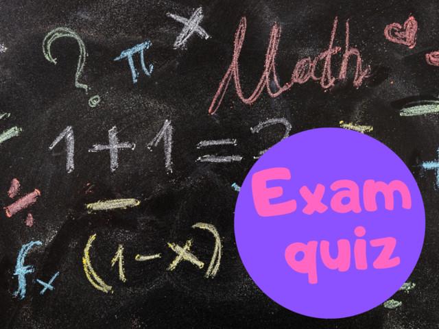 GCSE Maths past paper exam quiz - can you pass?