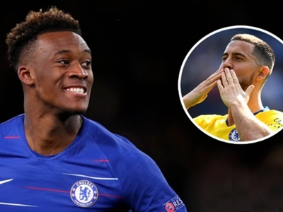 Hudson-Odoi wants Hazard's No.10 shirt at Chelsea but contract talks yet to start