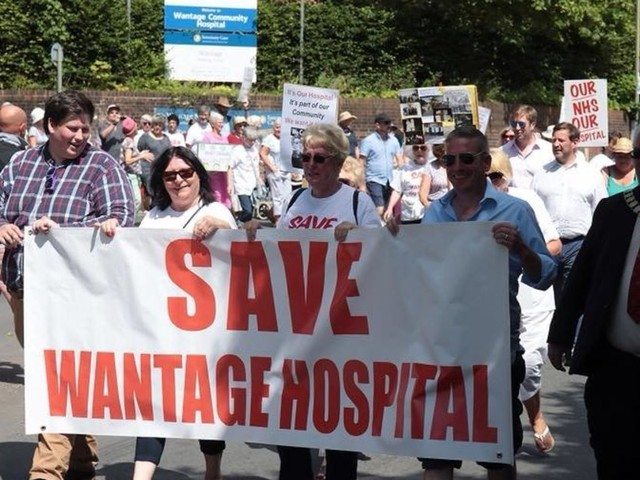 What It's Like To Lose Your Community Hospital: Health Chiefs Under Fire As A&E Waiting Times At Record High