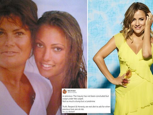 Sophie Gradon's mum Deborah slams parliamentary inquiry into reality TV after Caroline Flack death