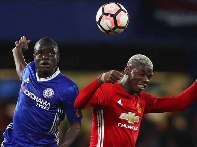N'Golo Kanté vs. Manchester United: Head and shoulders above Paul Pogba