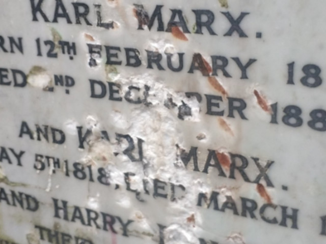 Grave Of Karl Marx Vandalised In 'Suspected Far-Right Attack'