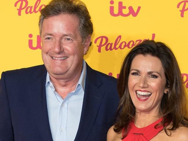 Good Morning Britain's Susanna Reid Left 'In Shock' By Piers Morgan Drama