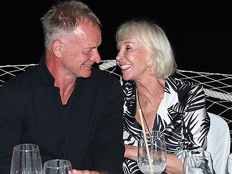 Sting, 69, & Wife Trudie Styler, 67, Step Out For Rare Date Night In Italy — Photos