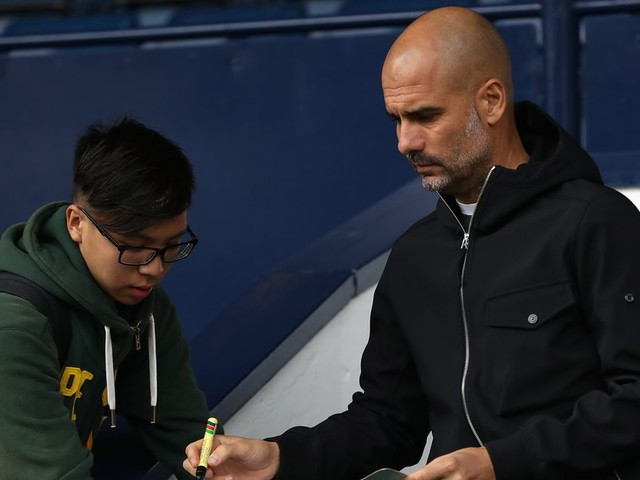 Pep Guardiola's Manchester City teamsheet for Wigan already has one name on it