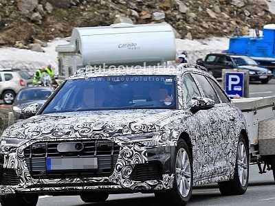 Spyshots 2019 Audi A6 Allroad Quattro Starts Testing Motors