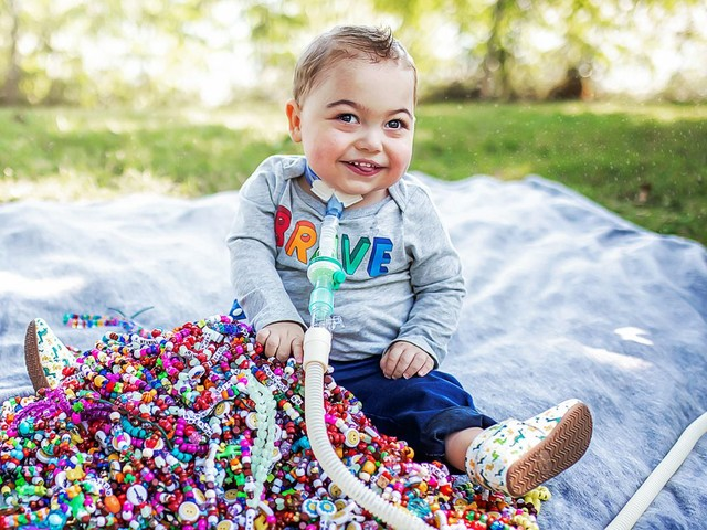 Nathan turns two after surviving a double lung transplant, open heart surgeries and a COVID-19 outbreak