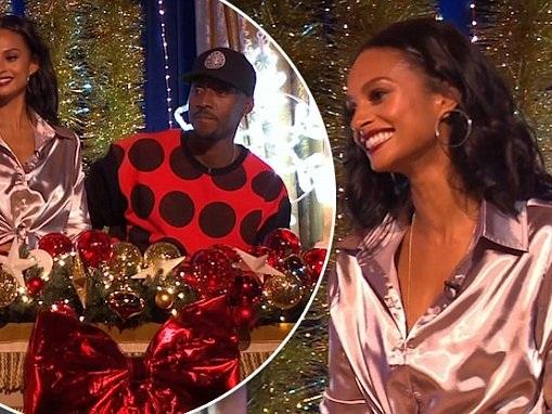 Alesha Dixon introduces beau Azuka Ononye as her HUSBAND