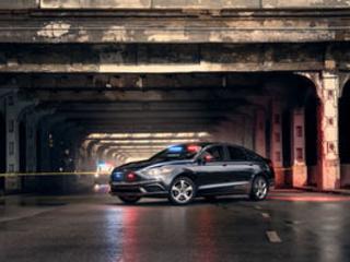 Ford Introduces Plug-in Hybrid Cop Car