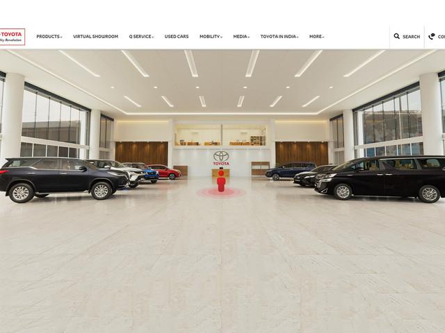 Toyota launches virtual showroom