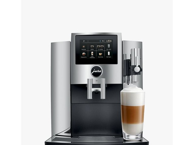 Automated Barista-Grade Coffee Makers - The JURA S8 Fully Automatic Coffee Machine is Simple to Use (TrendHunter.com)
