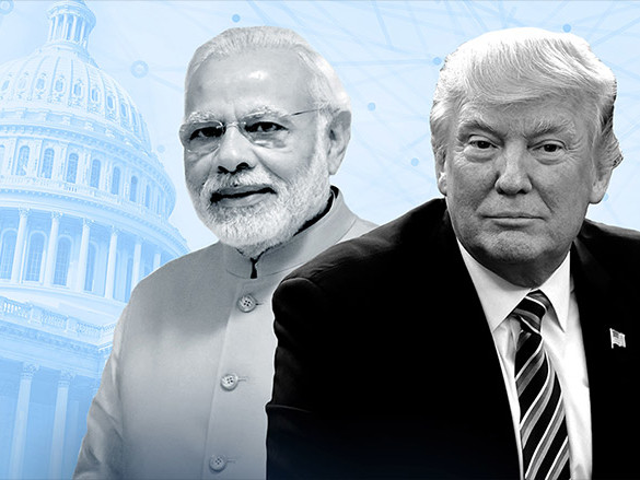 Trump's talks with India's prime minister could be tense