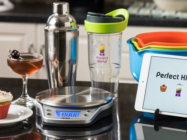 Cocktail-Perfecting Kitchen Scales - The Perfect Drink PRO Smart Scale Works with a Smartphone App (TrendHunter.com)