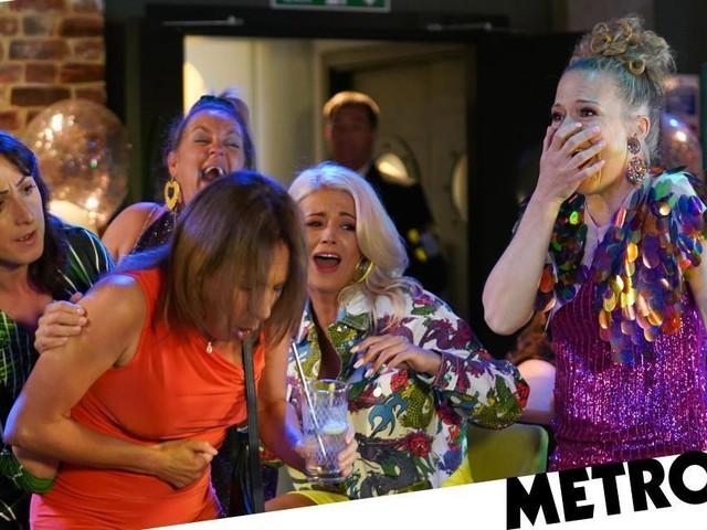 EastEnders spoilers: Disaster strikes at Whitney's hen do