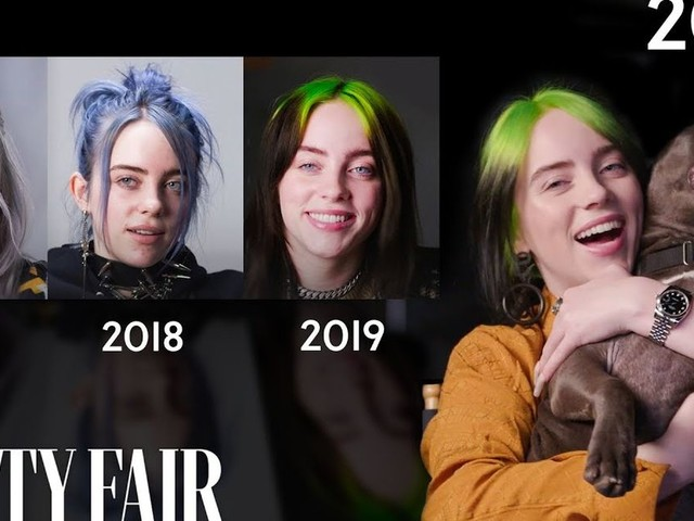 Billie Eilish's annual 'Vanity Fair' interview is here to remind us it's been A YEAR