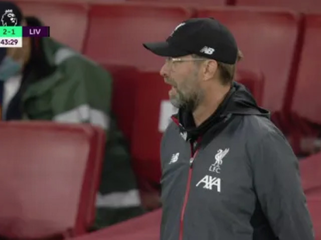 Jurgen Klopp's reaction to Alisson error which ended Liverpool's 100-point hopes