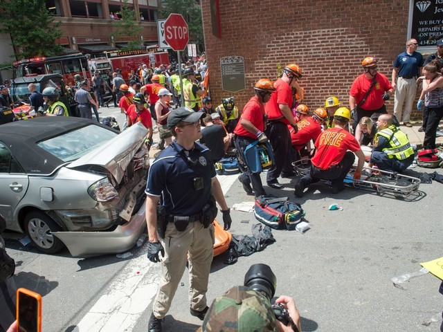 Charlottesville car killing 'does meet the definition of domestic terrorism,' Sessions says