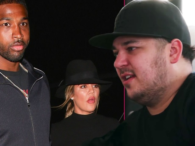 Family Feud! Khloe & Tristan At Each Other's Throats Over Rob