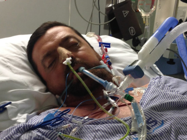 Watch The Incredible Moment Sepsis Patient Close To Death Finds Way To Tell Wife He Loves Her