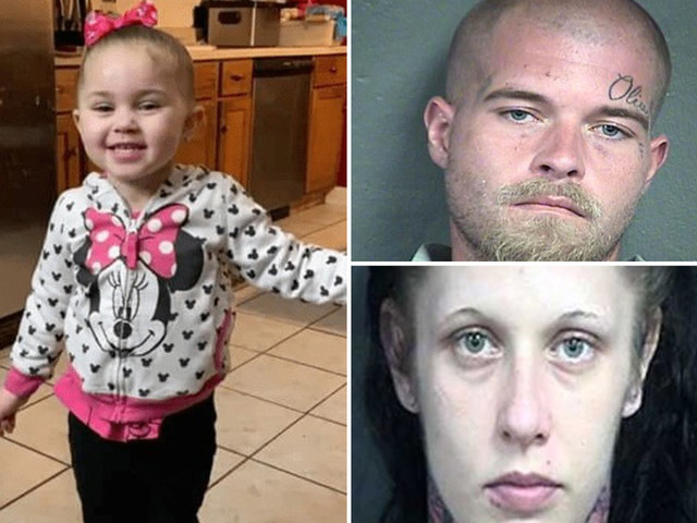 Missing girl Olivia Jansen, 3, found dead as father and woman booked on 'suspicion of first degree murder'