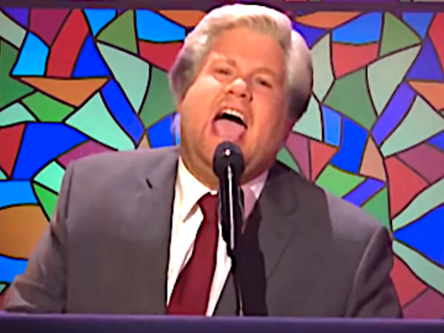 James Corden & A Gospel Choir Taunt 'Dirty' Trump With 'Mueller Indictment Song'