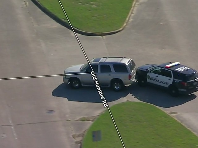 Wrong-way driver leads police on chase in north Houston