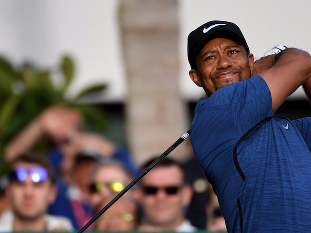 Tiger Woods cleared a big hurdle in his recovery from back surgery sparking speculation he will return to action in November