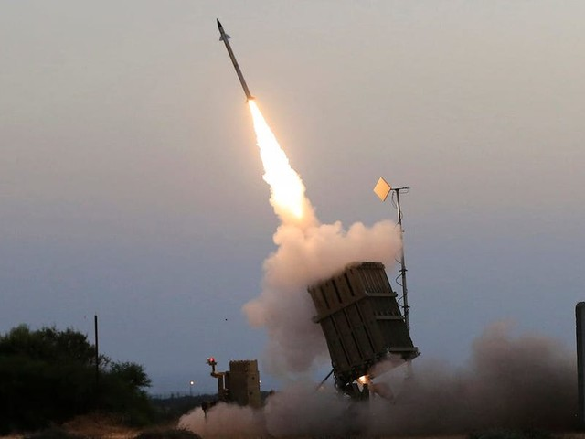 The Israeli military says Iron Dome shot down one of its own drones during intense fighting