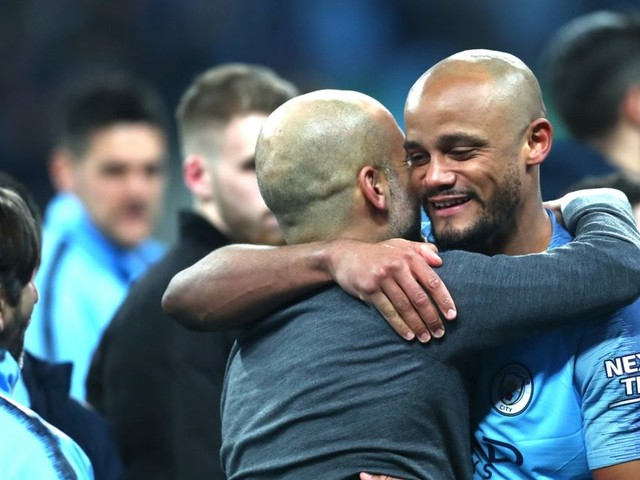 Vincent Kompany compares Man City squad to 2012 Premier League winners