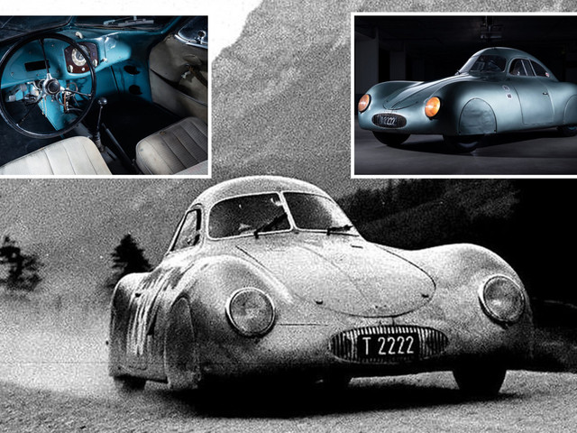 'Nazi Porsche' worth £16million fails to sell after bids start at the wrong price