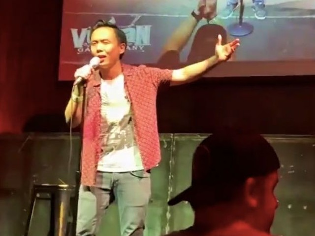 Why Comedian Peng Dang Posted That Racist Tony Hinchcliffe Video