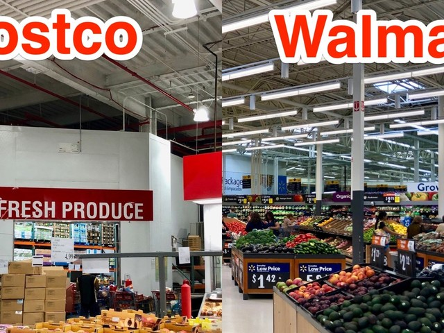 We compared grocery shopping at Walmart and Costco, and found the discount superstore is better for the average shopper