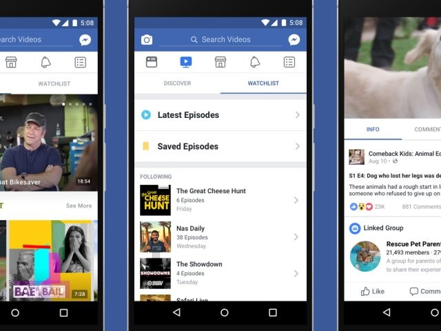 Facebook is tweaking its video-ranking algorithm to prioritize original video (FB)