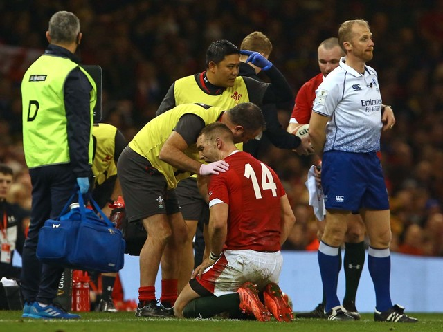 George North advised to consult specialist before returning from latest head injury for Six Nations duty