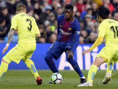 Barcelona frustrated in goalless draw with Getafe