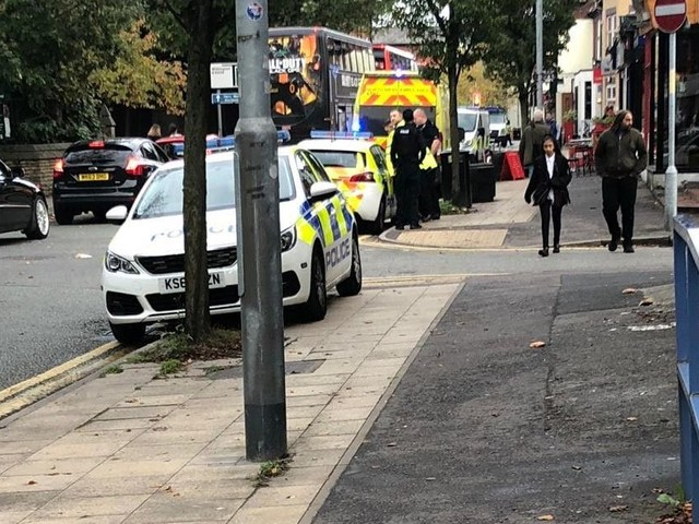 Schoolboy treated by paramedics after being hit by car in Didsbury