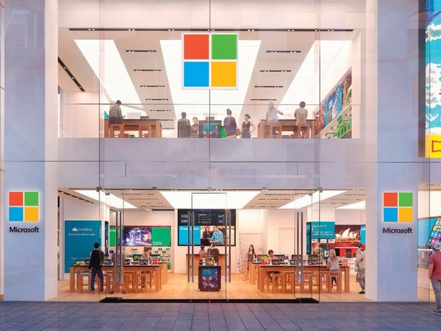 Microsoft confirmed it plans to open a store on London's famous Regent Street (MSFT)