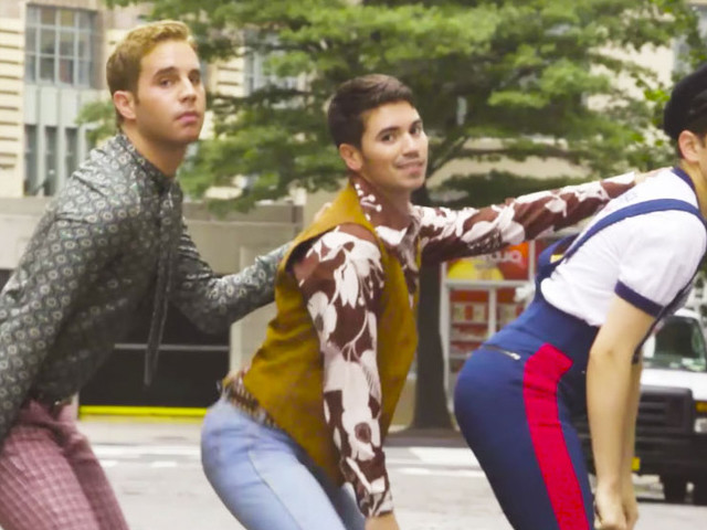 Evans Hansen Ben Platt, Noah Galvin, and Taylor Trensch Made a Whole Disco Video Thing
