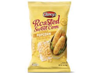 Roasted Sweet Corn Popcorns - Clancy's Roasted Sweet Corn Popcorn Tastes Just Like Corn on the Cob (TrendHunter.com)