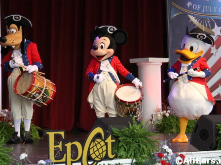 Disney World Announces Fourth of July Entertainment Schedule