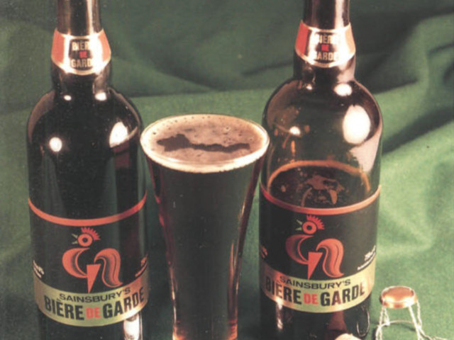 Artyfacts from the Nyneties #5: Sainsbury's Bière de Garde, 1991