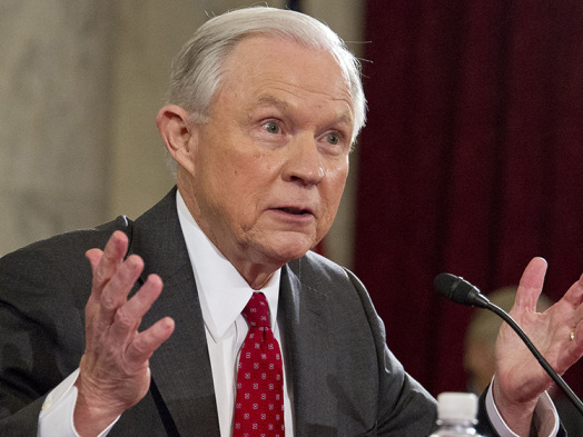 Jeff Sessions Sidesteps Question of White House Input on AT&T-Time Warner Merger