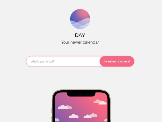 Yahoo has built a new calendar app called Day, and it's recruited the co-founder of Sunrise to design it